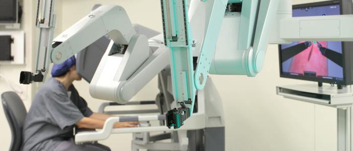cirurgia de próstata robótica